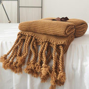 Jasmina Knit Throw Blanket - Unwindin