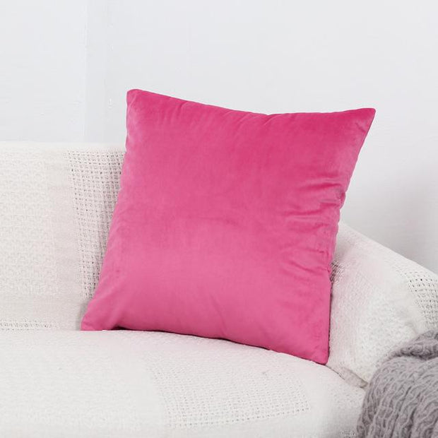 Layla Velvet Throw Pillow Cover - Unwindin