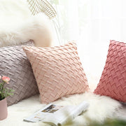 Lillie Braided Throw Pillow Cover - Unwindin