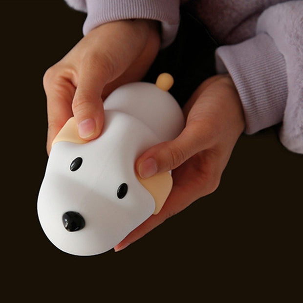 Marshmallow Puppy LED Night Light - Unwindin