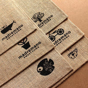 Natural Burlap Table Placemat - Unwindin