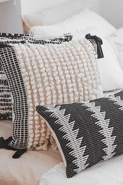 Otto Handwoven Embroidered Pillow Cover - Unwindin