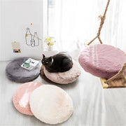 Priyanka Faux Fur Memory Foam Cushion - Unwindin