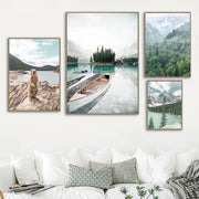 'Adventure Is Calling' Cotton Canvas Print