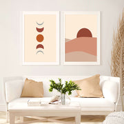 'Terracotta Desert I' Cotton Canvas Print