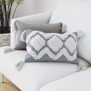 Samira Moroccan Tufted Throw Pillow Cover - Unwindin