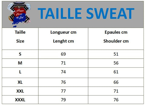 Taille sweat