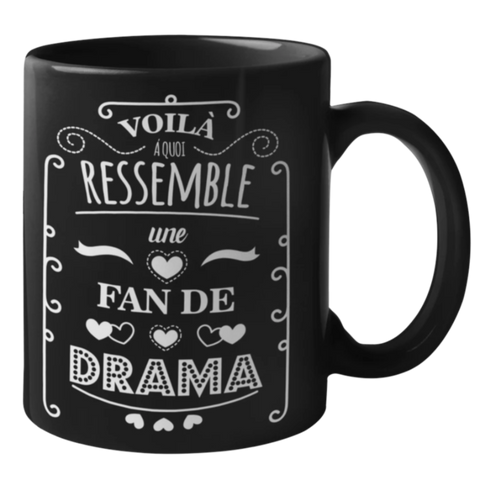 Mug Fan Drama | France Corée du Sud