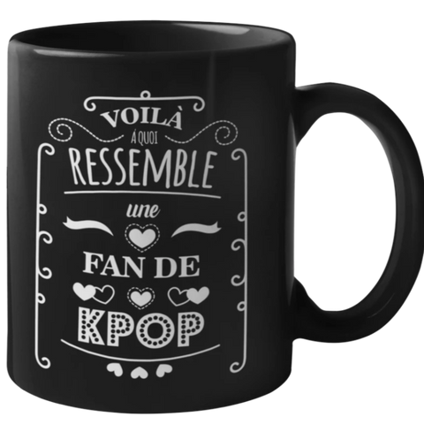Mug Fan Kpop | France Corée du Sud