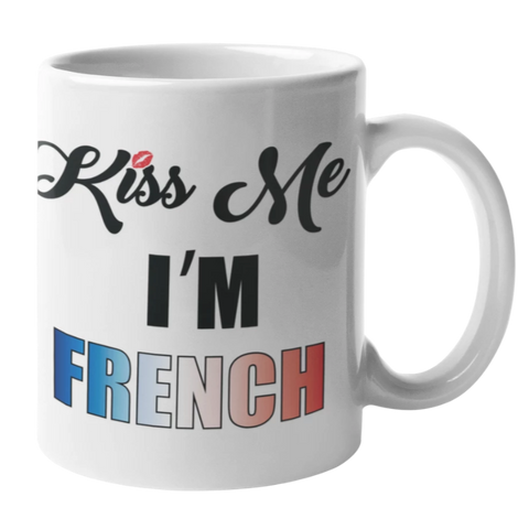 Mug Kiss Me Im French | France Corée du Sud