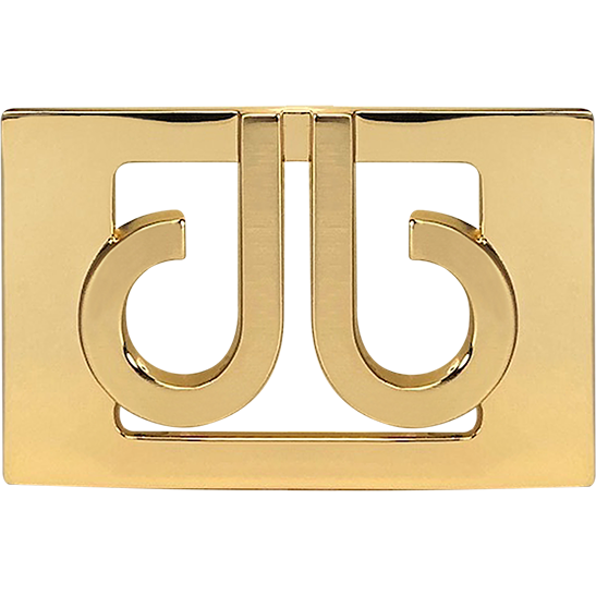 Gold Druh db Classic Thru Buckle