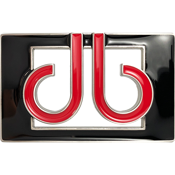 db Colour Thru Buckle - Black/Red