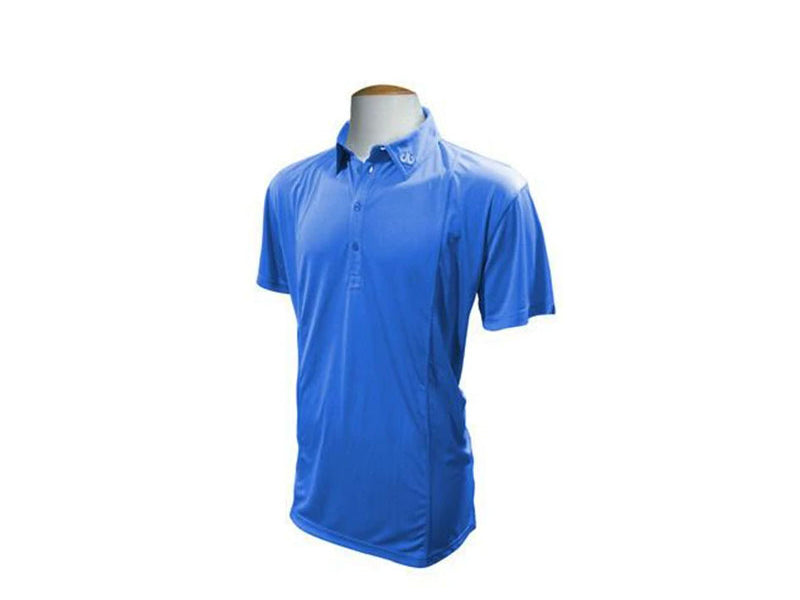 Blue Designer Polo Shirt