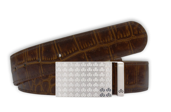 Players Crocodile - Brown - Druh Belts and Buckles UK  - Mobile