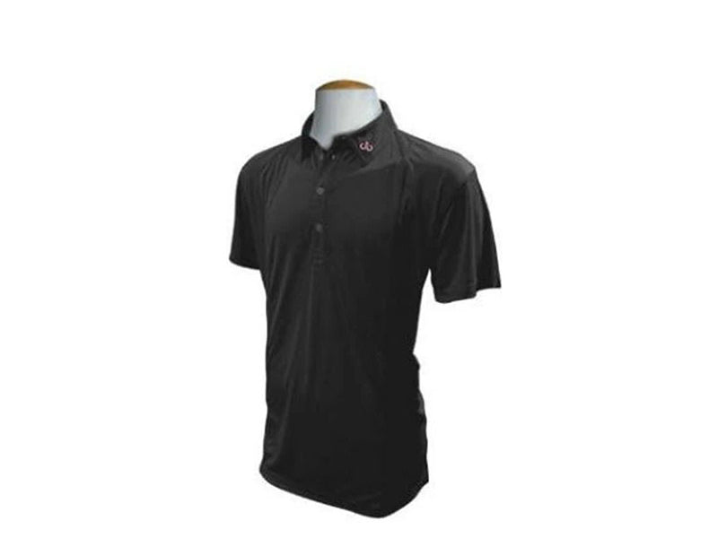 Black Designer Polo Shirt