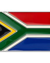 South Africa Flag Buckle