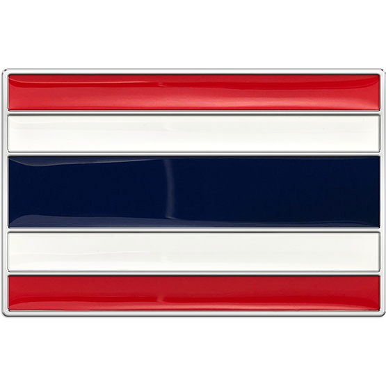 Thailand Flag Buckle