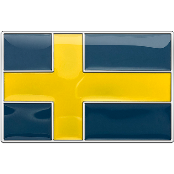 Sweden Flag Buckle