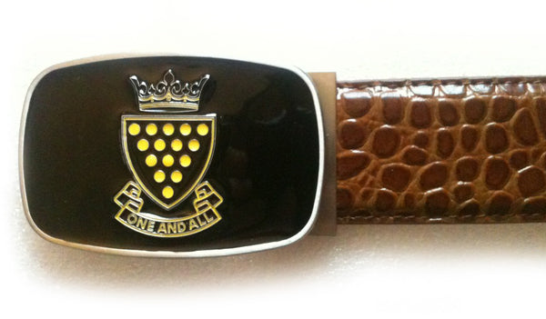 Cornwall Buckle with Croc strap - Brown - Mobile