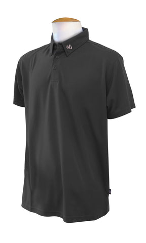 Corporate Polo Shirt - Black - Druh Belts and Buckles UK