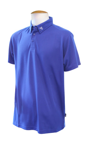 Corporate Polo Shirt - Shocking Blue - Druh Belts and Buckles UK