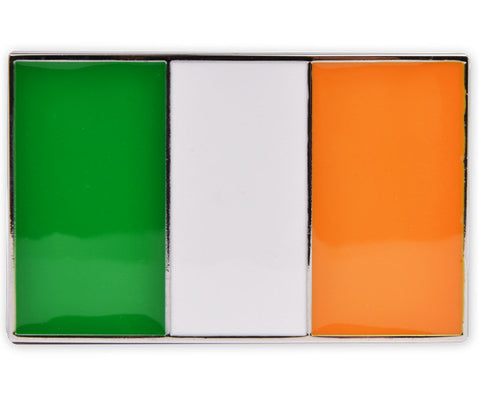 Ireland Flag Buckle - Druh Belts and Buckles UK  - 1