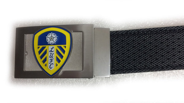 Players Leeds United Buckle - Black - Mobile