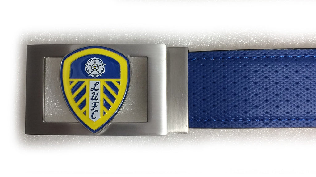 Players Leeds United Buckle - Blue
