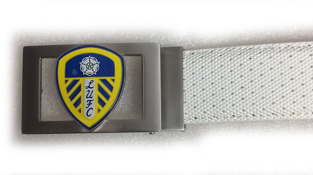 Players Leeds United Buckle - White
