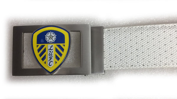 Players Leeds United Buckle - White - Mobile