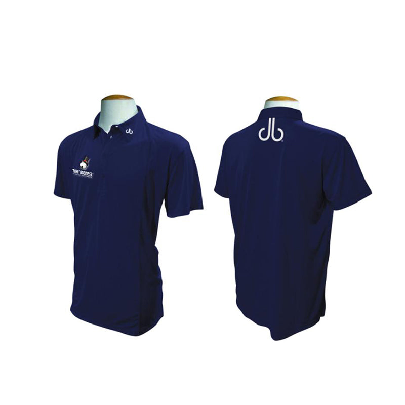 'FORE' branded Druh Polo Shirt - Navy