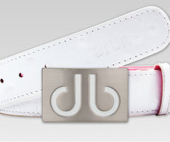 Ostrich White - Druh Belts and Buckles UK  - 2
