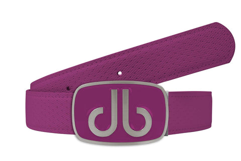 Players Collection - Purple - Druh Belts and Buckles UK