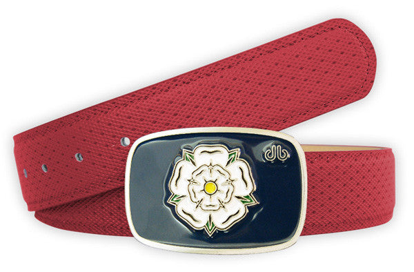 Players Yorkshire Collection - Red - Druh Belts and Buckles UK  - Mobile