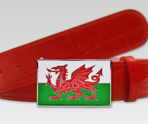 Wales Flag Buckle