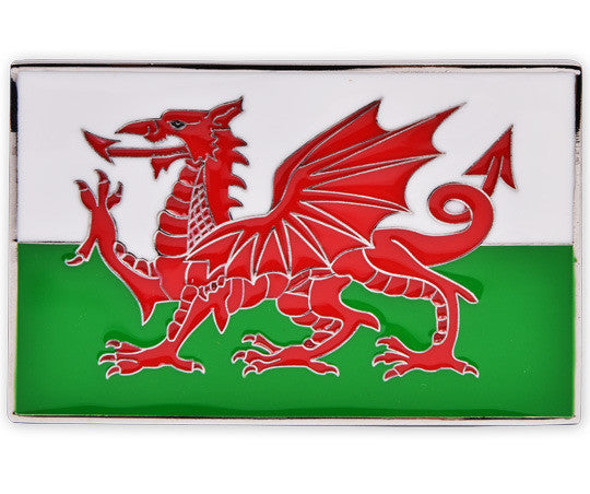 Wales Flag Buckle - Druh Belts and Buckles UK  - 1 - Mobile