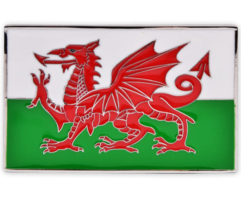 Wales Flag Buckle - Druh Belts and Buckles UK  - 1