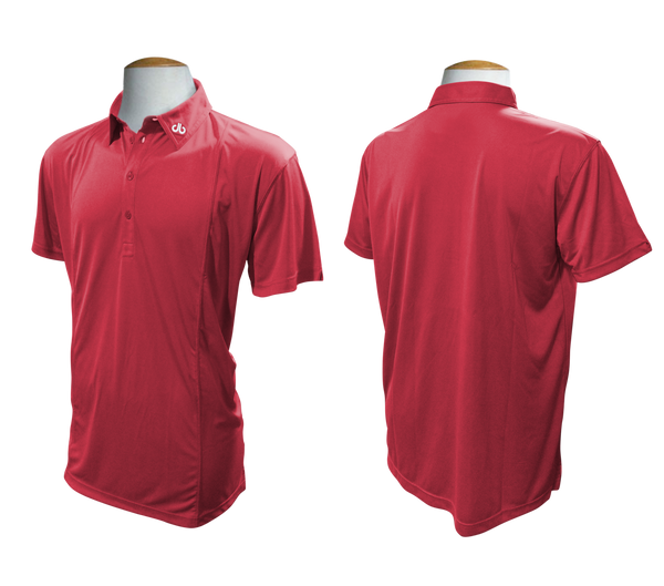 Druh Polo Shirt - Red - Druh Belts and Buckles UK  - Mobile