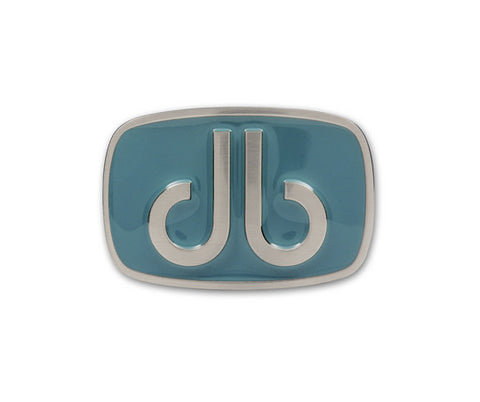 Druh Aqua Oval Buckle - Druh Belts and Buckles UK