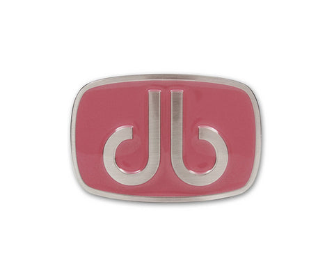 Pink Oval Buckle - Druh Belts and Buckles UK