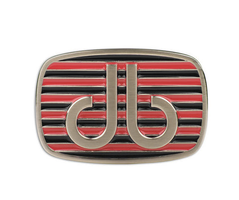 Druh db Pink & Black Stripe Buckle - Druh Belts and Buckles UK