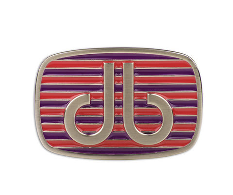 Druh db Purple & Pink Stripe Buckle - Druh Belts and Buckles UK