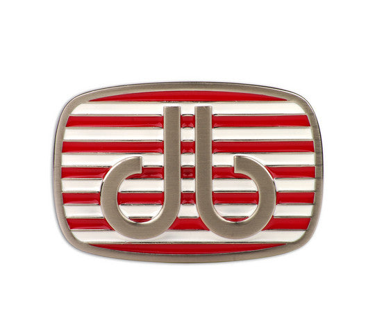 Druh db Red & White Stripe Buckle - Druh Belts and Buckles UK  - Mobile