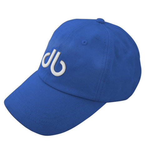 db Cap - Blue - Druh Belts and Buckles UK