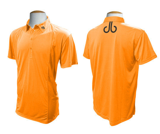 Druh Polo Shirt - Orange - Druh Belts and Buckles UK  - Mobile