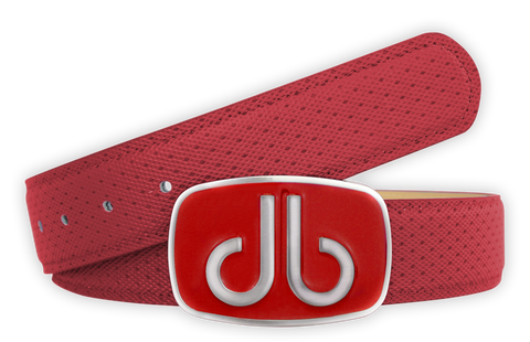 Players Collection - Red - Druh Belts and Buckles UK
