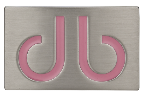 Pink db Infill Buckle - Druh Belts and Buckles UK  - Mobile