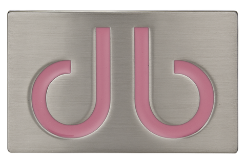 Pink db Infill Buckle - Druh Belts and Buckles UK