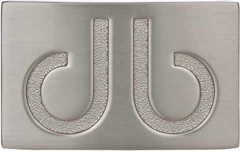 Silver Infill Buckle - Druh Belts and Buckles UK