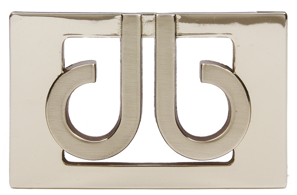 Druh 3D Silver Buckle - Druh Belts and Buckles UK  - Mobile